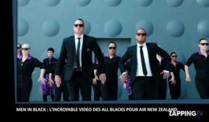 Men In Black : L'incroyable vidéo des All Blacks pour Air New Zealand