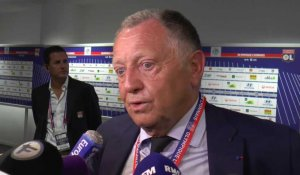 Ligue 1 - Lyon: Interview d'après match de Jean-Michel Aulas