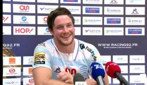 Top14 - Racing92, réaction d'après match: Henry Chavancy