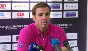 Top 14   Racing 92 - Stade Français: réactions de Gonzalo Quesada