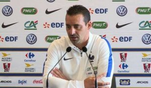 Euro 2017 - qualification(F): interview de Olivier Echouafni