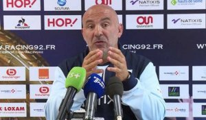 "Racing92 - Laurent Travers: ""On a 3 a 4 semaines de retard"""