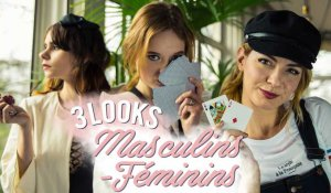 3 LOOKS MASCULINS FEMININS (avec SoUrbanGirl, Estelle Blog Mode et Natacha Birds)