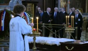 Office religieux en hommage à l'ambassadeur russe assassiné