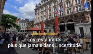 Les restaurants dans l'incertitude