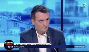 Florian Philippot menace de quitter le Front National ! - ZAPPING ACTU DU 12/05/2017