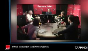 Patrick Cohen quitte France Inter : Un auditeur le clashe violemment en direct (Vidéo)