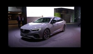 Opel Insignia GSi Preview at IAA 2017