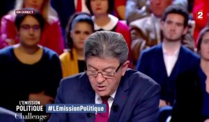 3 moments chauds de Jean-Luc Mélenchon à l'Emission Politique