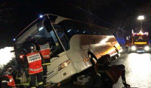 Accident de bus près de Domfront