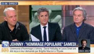 Hommage populaire pour Johnny (2/2)
