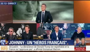Johnny Hallyday: l'hommage (1/4)