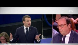 Quotidien : François Hollande tacle Emmanuel Macron