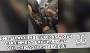 United Airlines: Un passager violemment expulsé d'un vol Chicago-Louisville