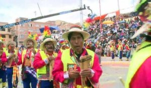 Bolivie: Le carnaval d'Oruro enchante 300.000 touristes
