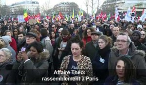Affaire Théo: rassemblement de soutient à Paris
