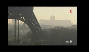 Rapport sanitaire sur la pollution de l'air à Paris