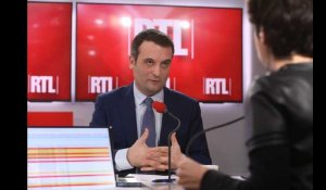 """Marine Le Pen n'assume plus la défense de l'indépendance nationale"", dit Philippot sur RTL"