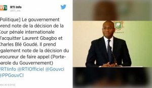 """Côte d'Ivoire. Gbagbo acquitté de crimes contre l'humanité : la Cour pénale internationale va faire appel"