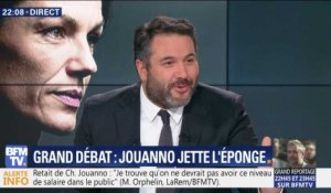 Grand débat: Chantal Jouanno jette l'éponge (1/4)