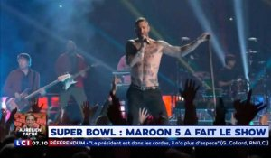 Super Bowl : bad buzz pour Maroon 5