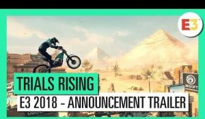 Trials Rising - E3 2018 - Announcement Gameplay Trailer