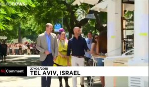 Le Prince William se ballade à Tel-Aviv