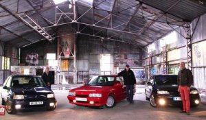 Youngtimers Renault : Clio Williams, 21 Turbo et Safrane Biturbo