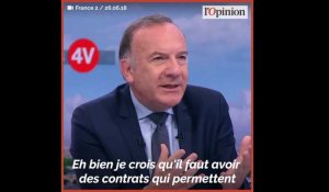 «Certaines professions ont besoin de contrats courts !»