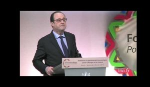 Hollande au forum franco-africain à Bercy