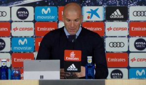 "Clasico - Zidane : ""On va revenir plus fort"""