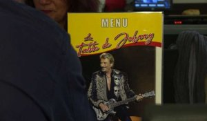 """La table de Johnny"": un restaurant pour les fans du chanteur"