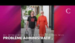PHOTO. Laeticia Hallyday quitte Saint-Barth : l'émotion au moment de dire au rev...