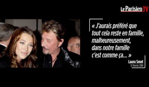 La lettre post-mortem de Laura Smet à son père Johnny Hallyday