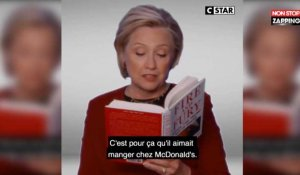 Grammy Awards : Hillary Clinton se moque de Donald Trump (Vidéo)