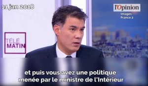 Olivier Faure (PS) charge Gérard Collomb