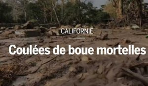 Coulées de boue mortelles en Californie