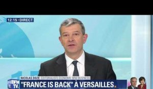"""France is back"" à Versailles"