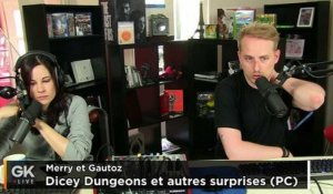 [GK Live replay] Un aperçu de Dicey Dungeons et Lovecraft's Untold Stories