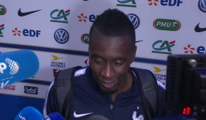 FRANCE-IRLANDE interview Blaise MATUIDI (match de préparation Mondial 2018)