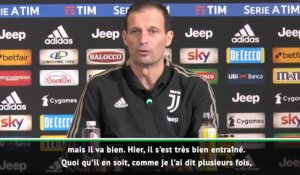 "Ballon d'Or - Allegri : ""Ronaldo mérite le Ballon d'Or"""