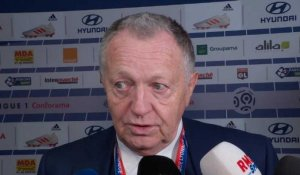 "Derby - Aulas : ""On n'a pas vu un très grand match"""