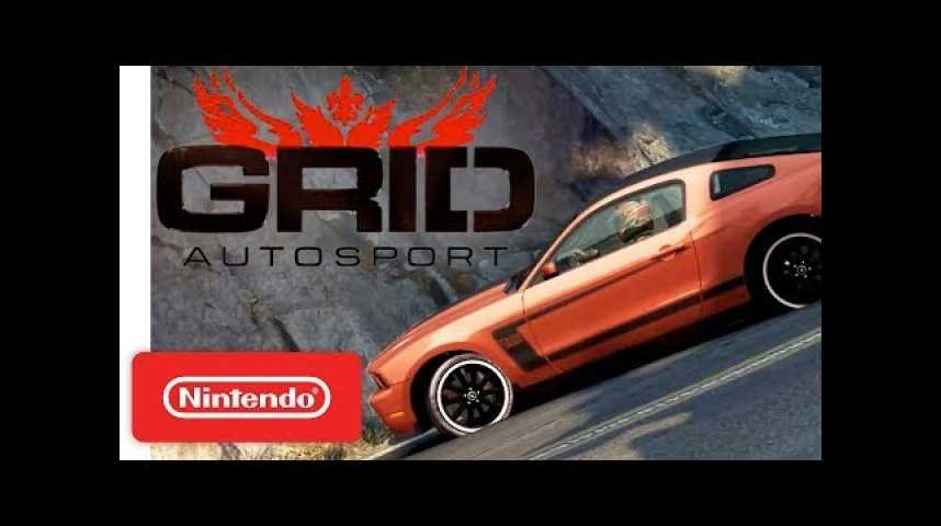 GRID Autosport - Announcement Trailer - Nintendo Switch