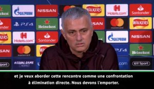 "Groupe H - Mourinho : ""Jouons comme si nous devions absolument gagner"""