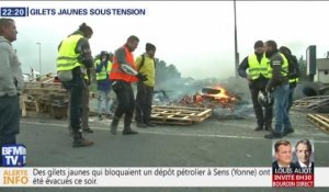 Gilets jaunes sous tension