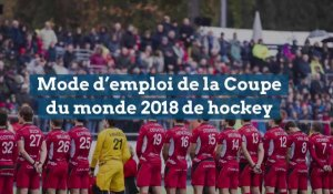 Le mode d'emploi de la Coupe du monde 2018 de hockey