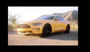Ford unleashes Line Lock on Mustang Ecoboost | AutoMotoTV