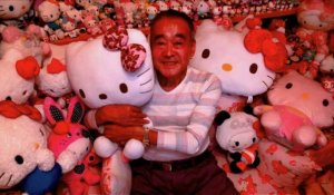 Japon: la plus grande collection de poupées Hello Kitty du monde