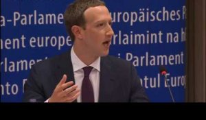 Mark Zuckerberg s'excuse devant le Parlement européen