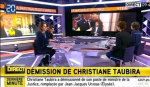 Christiane Taubira : Les raisons de sa démission
